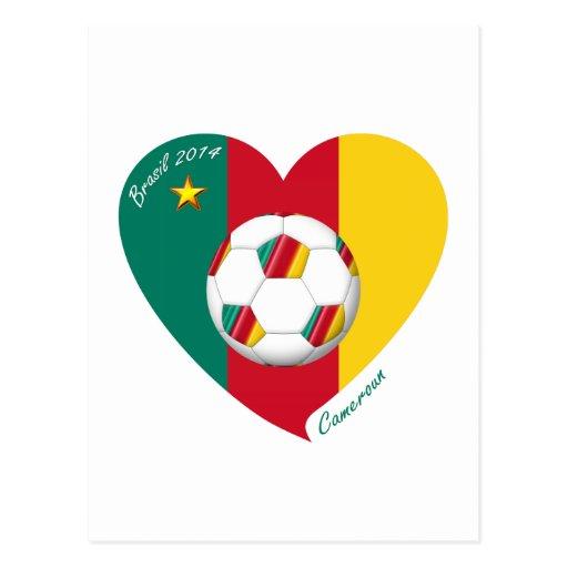 "Soccer ""CAMEROUN"" Football Team, Fútbol de Camerún Tarjetas Postales"