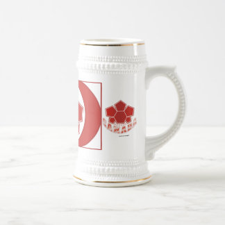 Soccer Canada Flag Beer Stein