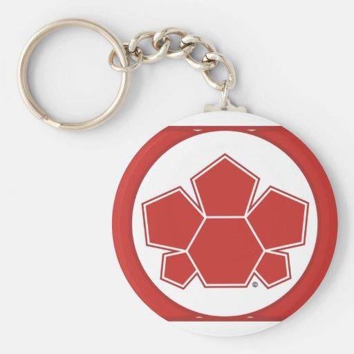 Soccer Canada Flag Keychain