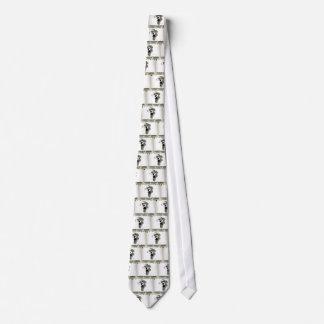 soccer captain black + white kit tie