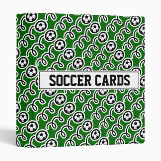 Soccer card binder for collector (no sleeves)
