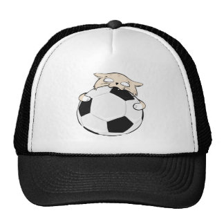 Soccer Cat Trucker Hat