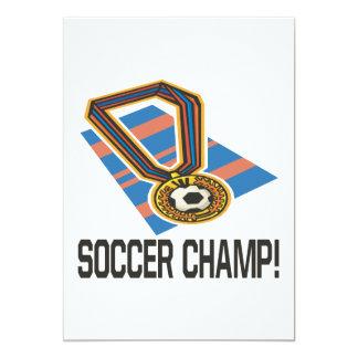 Soccer Champ Card