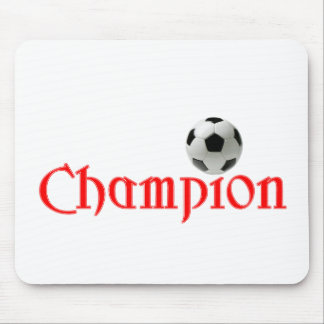 Soccer CHAMPION Mouse Pad