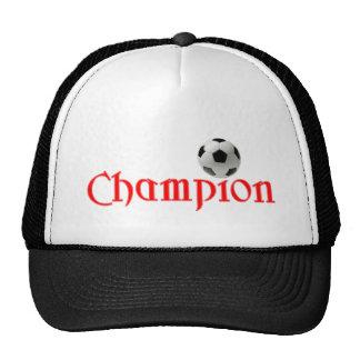 Soccer CHAMPION Trucker Hat