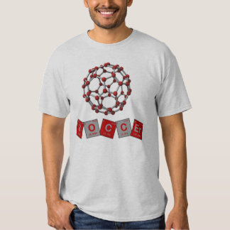 Soccer Chemical Elements with Buckyball! Shirt