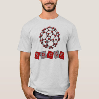 Soccer Chemical Elements with Buckyball! T-Shirt
