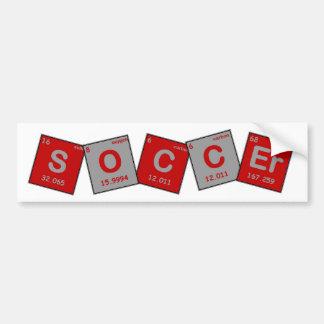 Soccer Chemistry Bumper Sticker! Bumper Sticker