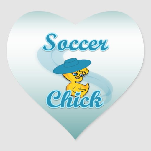 Soccer Chick #3 Stickers