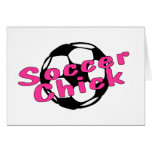 Soccer Chick Cards