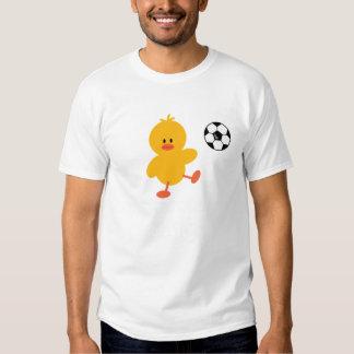 Soccer Chick Kids Crew Shirt