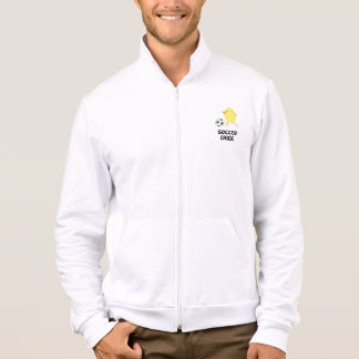 Soccer Chick Printed Jacket