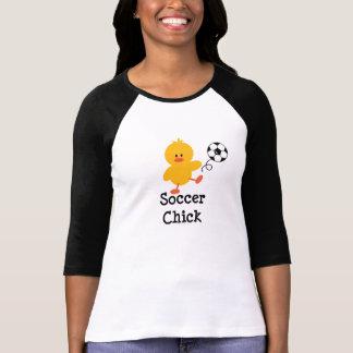 Soccer Chick Raglan T-Shirt