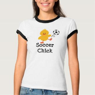 Soccer Chick Ringer T shirt