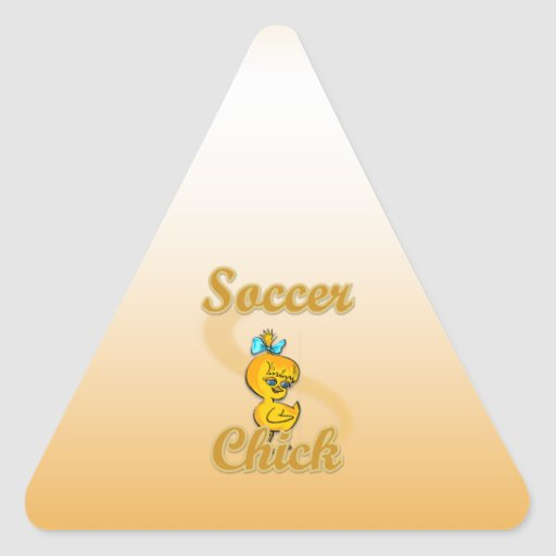 Soccer Chick Stickers