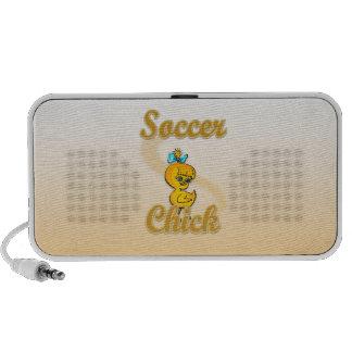 Soccer Chick Travelling Speakers