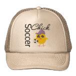 Soccer Chick v2 Hat