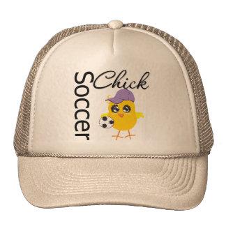 Soccer Chick v2 Trucker Hat