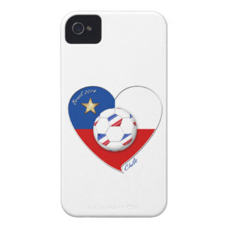 """Soccer """"CHILE"""" 2014. National Chilean soccer team iPhone 4 Case-Mate Case"""