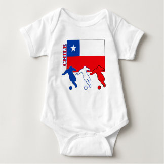 Soccer Chile Baby Bodysuit