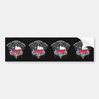 Soccer Chile Bumper Sticker
