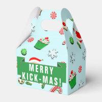 soccer Christmas Favor Box