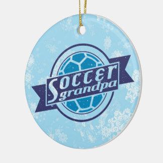 Soccer Christmas Ornament, Soccer Grandpa