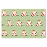 Soccer Christmas Tissue Paper