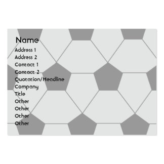 Soccer - Chubby Large Business Cards (Pack Of 100)