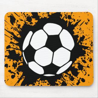 soccer : circles : mouse pad
