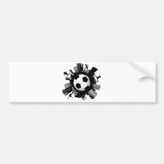Soccer City Bumper Sticker