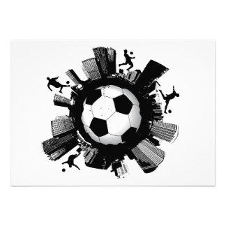 Soccer City Invitations