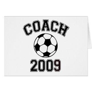 Soccer Coach 2009 Card