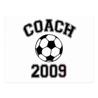 Soccer Coach 2009 Postcard