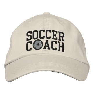 Soccer Coach Cap Embroidered Baseball Caps