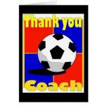 Soccer Coach card