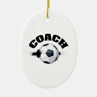 Soccer Coach Ceramic Ornament