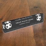 Soccer Coach Desk Name Plate