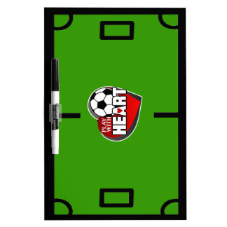 Soccer Coach Dry Erase Board