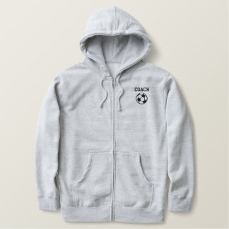 Soccer Coach Embroiderd Jacket