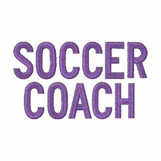 SOCCER COACH EMBROIDERED HOODIE