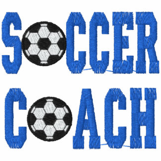 Soccer Coach Embroidered Shirt