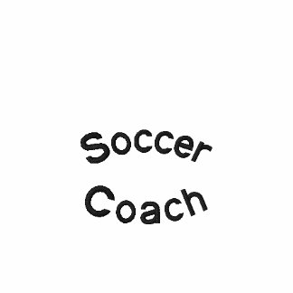 Soccer Coach Embroidery Embroidered Shirt