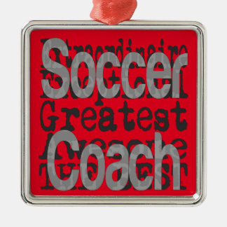 Soccer Coach Extraordinaire Metal Ornament