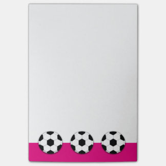 Soccer coach football PERSONALIZE Post-it Notes
