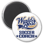 Soccer Coach Gift 2 Inch Round Magnet