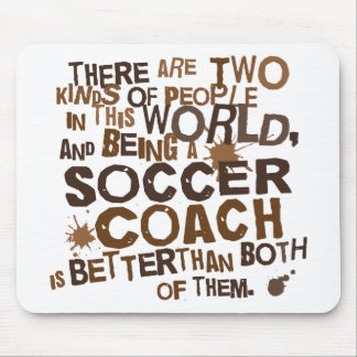 Soccer Coach Gift Mouse Pad
