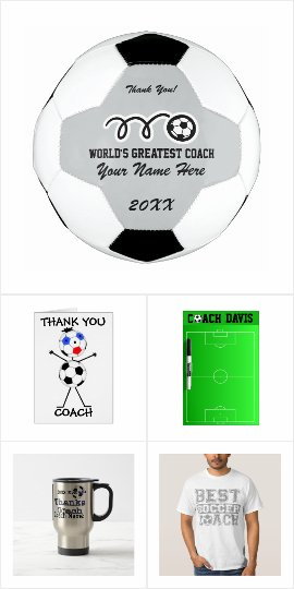 Gift ideas for soccer coach