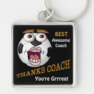 Soccer Coach Gifts Personalized YEAR, TEAM & NAME Key Chain