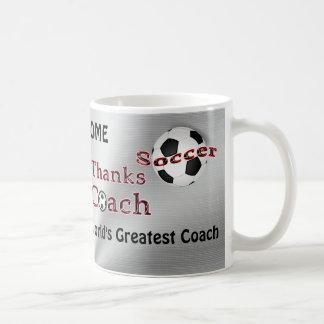 Soccer Coach Gifts Thank You MUG Coffee Mug